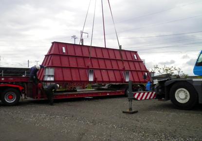 重量物・精密機械運搬